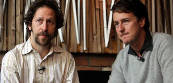 Tim Blake Nelson and Edward Norton