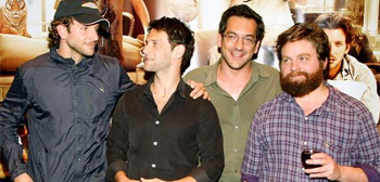 The Hangover Cast + Todd Phillips