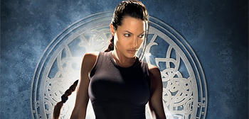 Angelina Jolies as Lara Croft