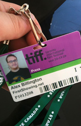 Alex's TIFF Badge