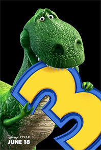 Toy Story 3 Poster - Rex