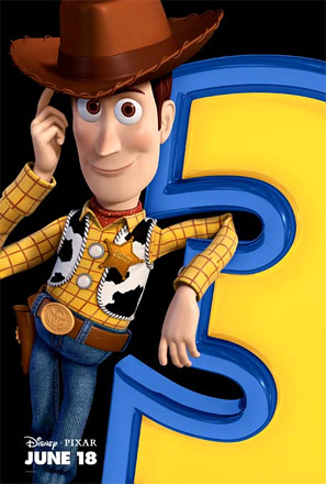 Toy Story 3 Poster - Woody