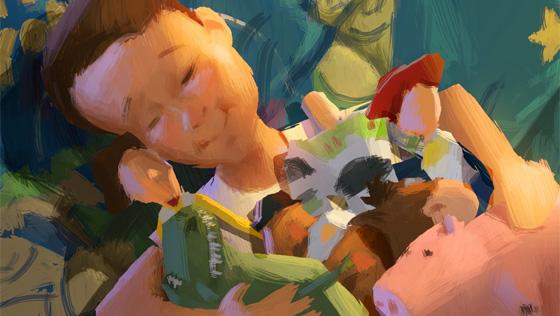 Toy Story 3 Color Script Art
