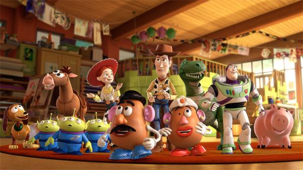 Toy Story 3 Cast Photo