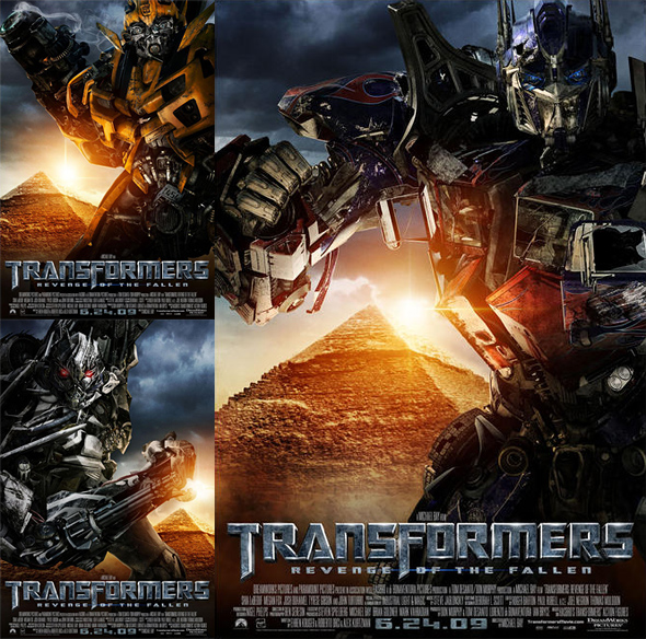 Transformers: Revenge of the Fallen Posters