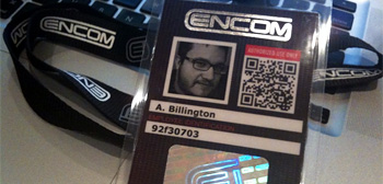 Encom ID Badge