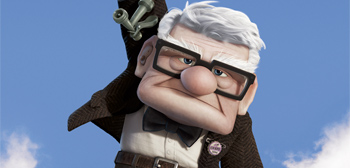 Three New Character Posters for Pixar's Up!