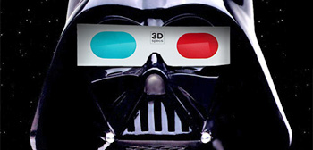 Darth Vader 3D Glasses