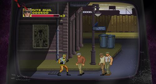 Watchmen 8-Bit Arcade Game