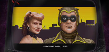 Check This Out: Awesome Watchmen 8-Bit Arcade Game