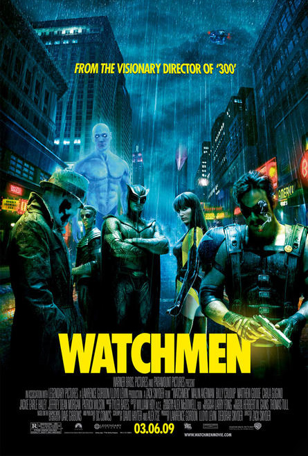 Final Watchmen Poster