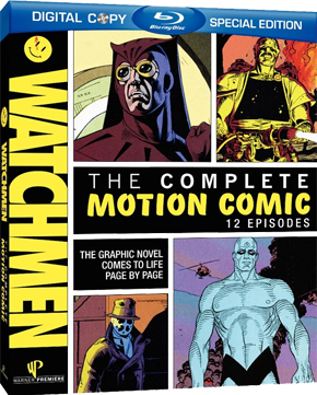 Watchmen: Motion Comics Blu-Ray