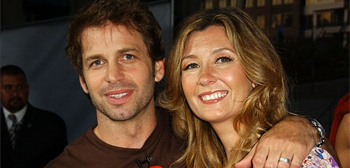 Zack Snyder and Debbie Snyder