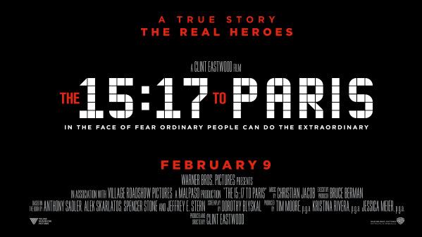 The 15:17 to Paris Movie