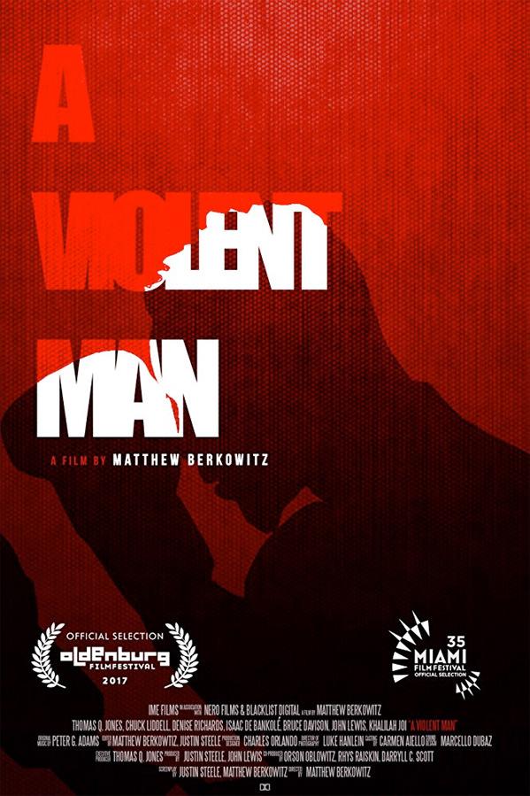 A Violent Man Poster