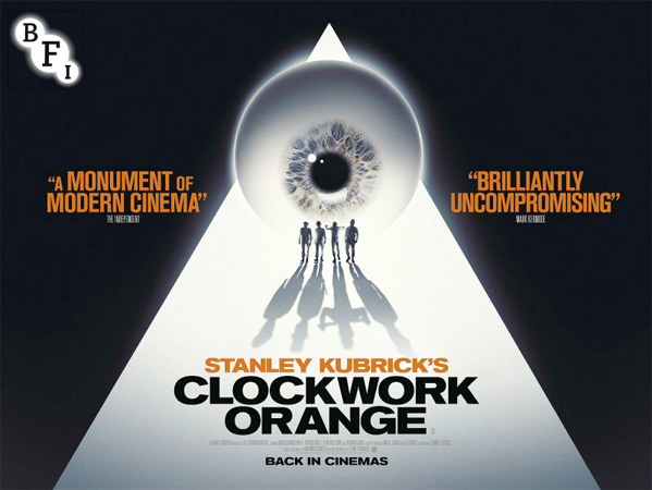 A Clockwork Orange UK Poster