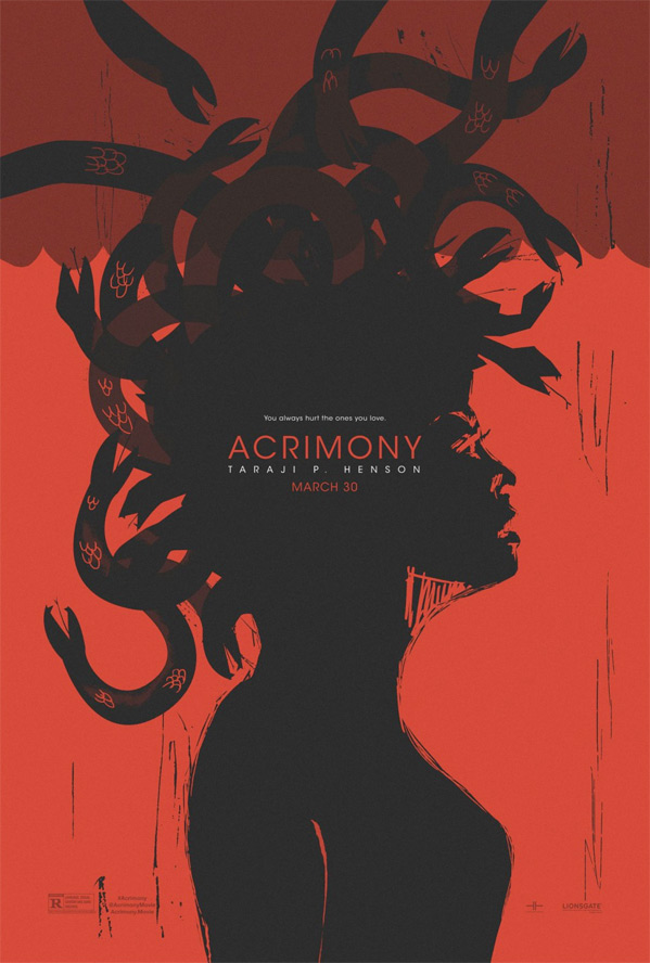 Acrimony Poster