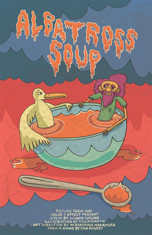 Albatross Soup Poster