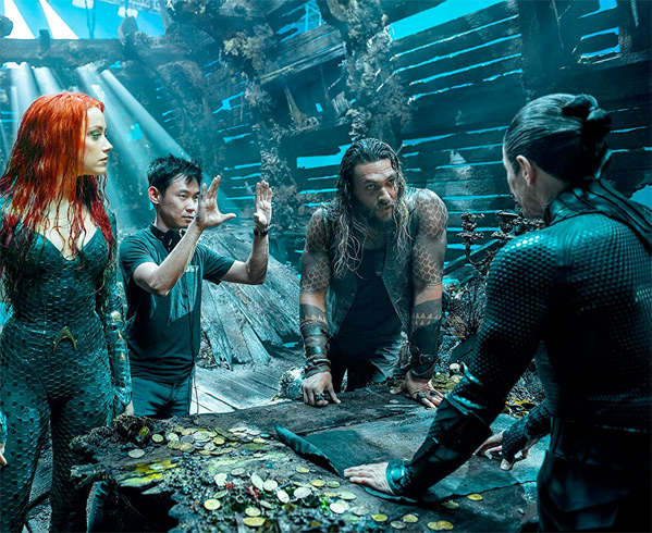 Aquaman Behind-the-Scenes