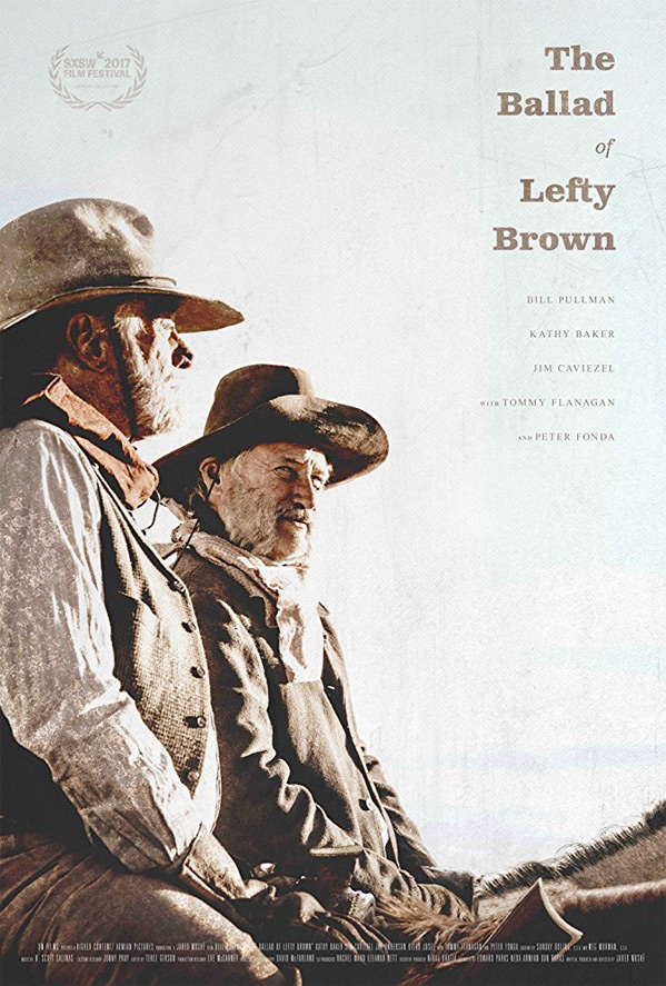 The Ballad of Lefty Brown Poster