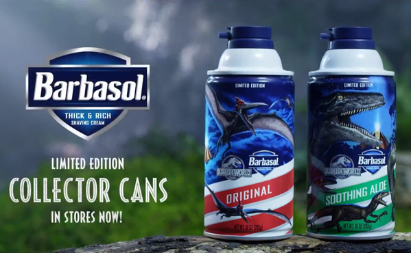 Barbasol Jurassic World