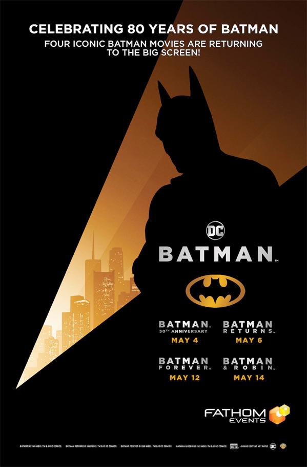 Batman Anniversary Screenings