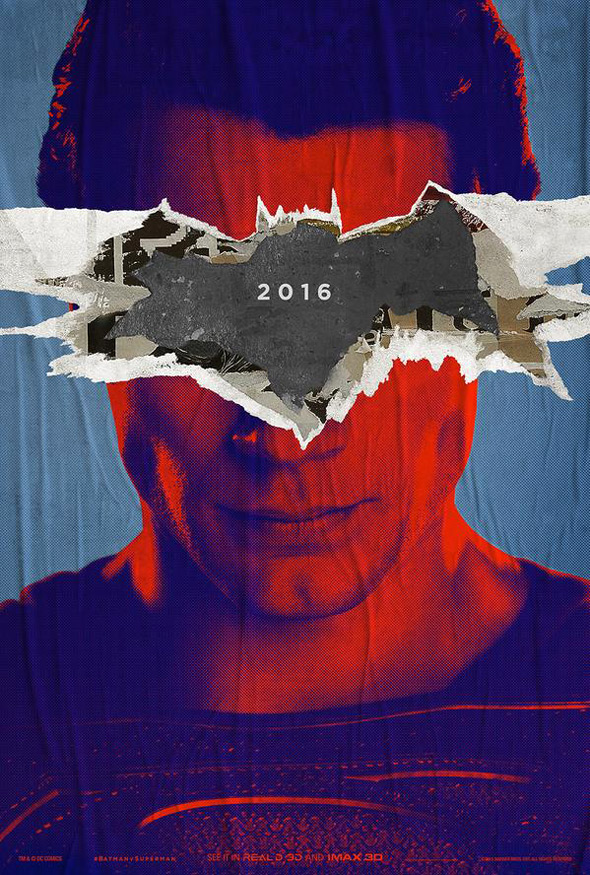 Batman v Superman Poster - SUPERMAN