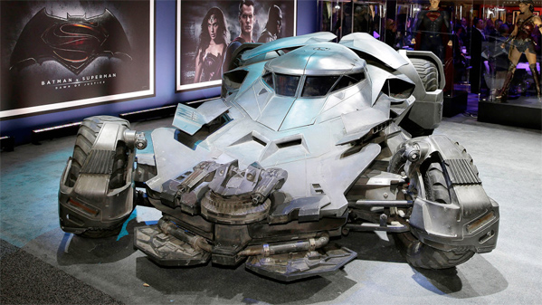 Batmobile - Batman v Superman