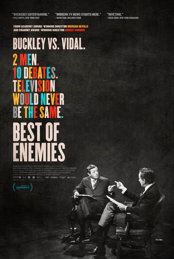 Best of Enemies Poster