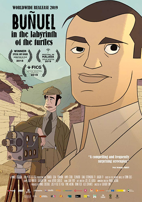 Buñuel in the Labyrinth of the Turtles Poster