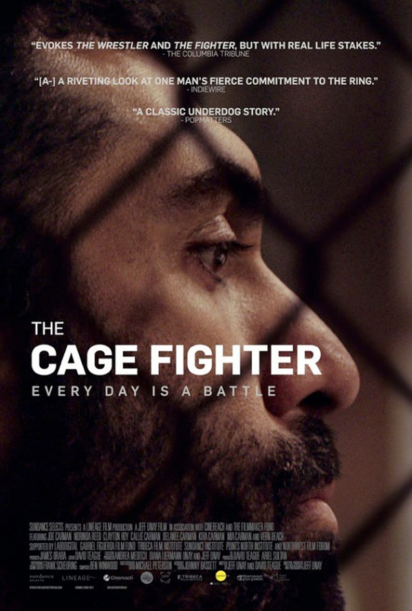 The Cage Fighter Poster
