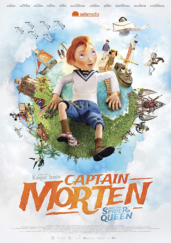 Captain Morten and the Spider Queen Poster