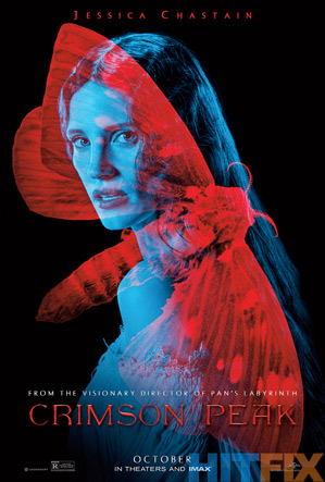 Crimson Peak Poster - Jessica Chastain