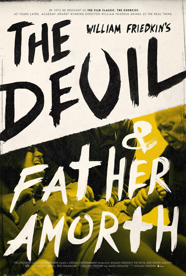 The Devil and Father Amorth Poster
