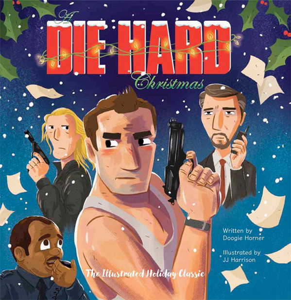 Die Hard Illustrated Book