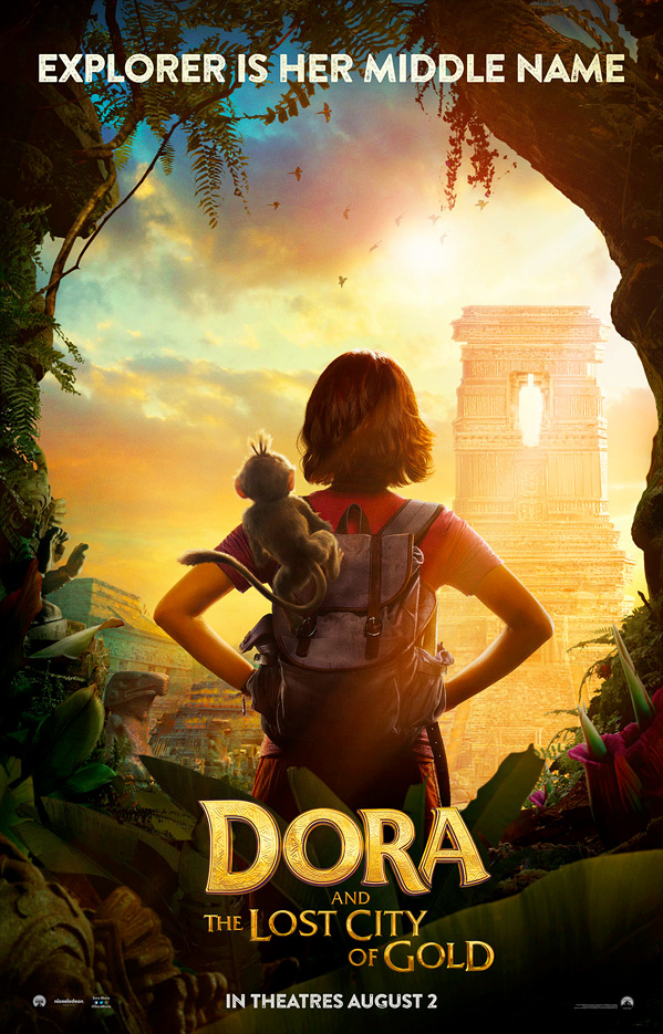 Dora and the Lost City of Gold Poster