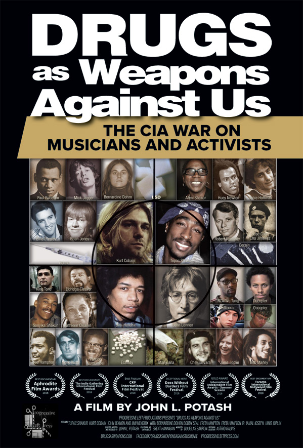 Drugs as Weapons Against Us Poster