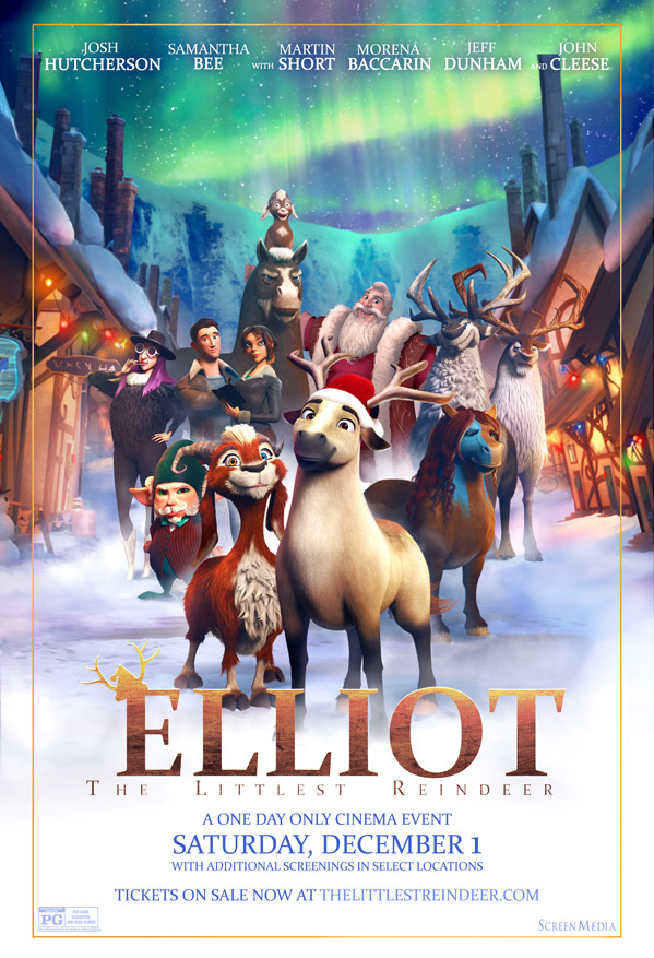Elliot: The Littlest Reindeer Poster