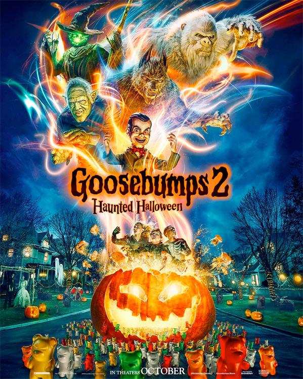 Goosebumps 2: Haunted Halloween Poster