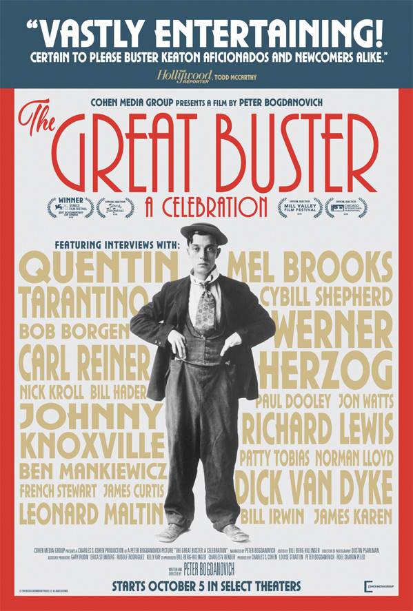 The Great Buster Poster