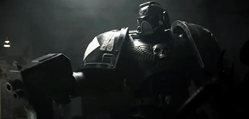 Watch Guardsman A Gloomy Live Action Warhammer 40k