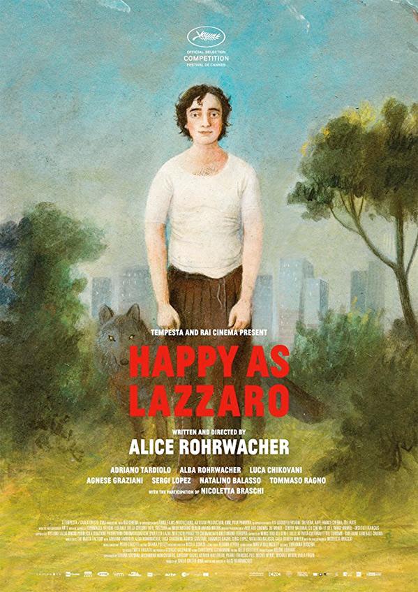 Happy as Lazzaro Poster