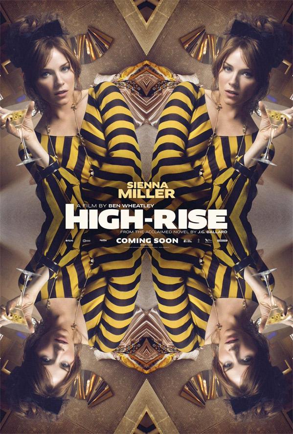 High-Rise Poster - Sienna Miller