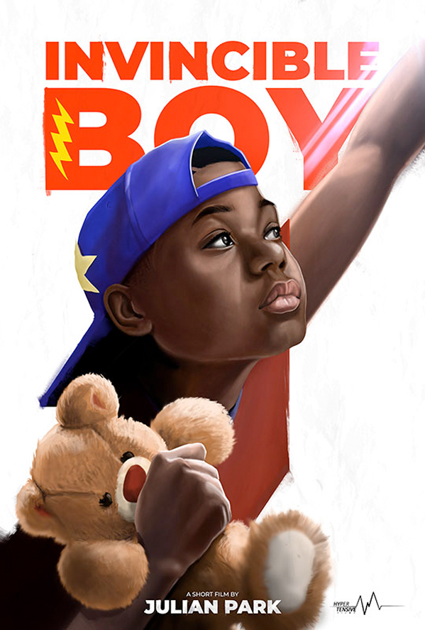 Invincible Boy Poster