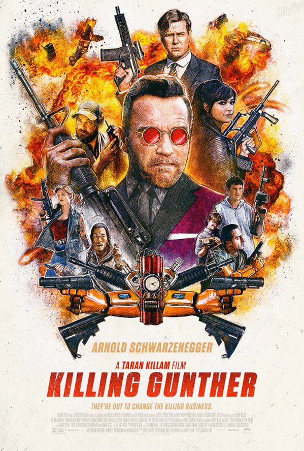 Killing Gunther Poster