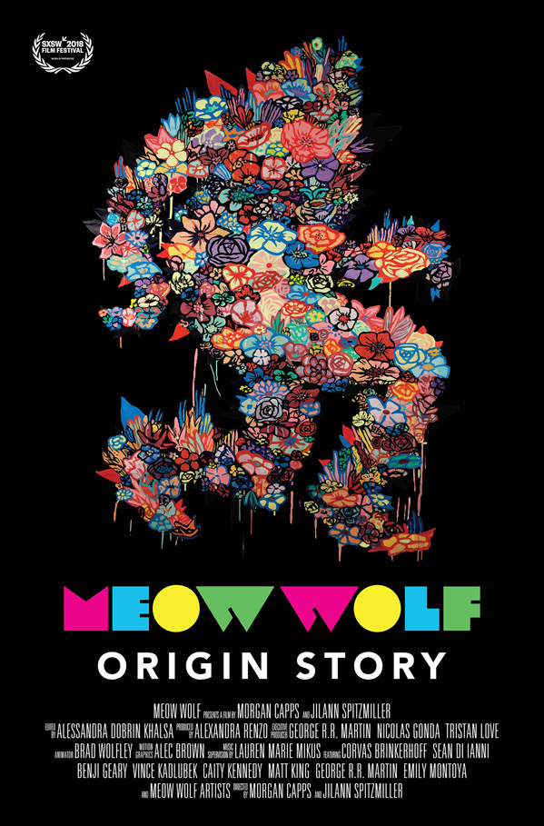 Meow Wolf: Origin Story Poster