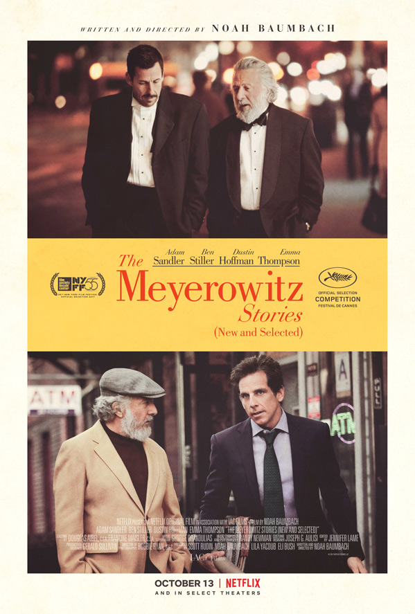 The Meyerowitz Stories (New and Selected)