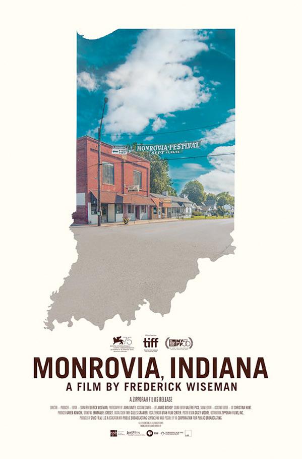 Monrovia, Indiana Poster