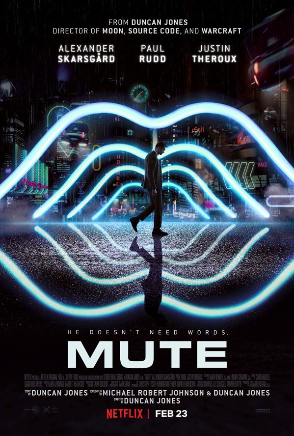 Mute Movie Poster