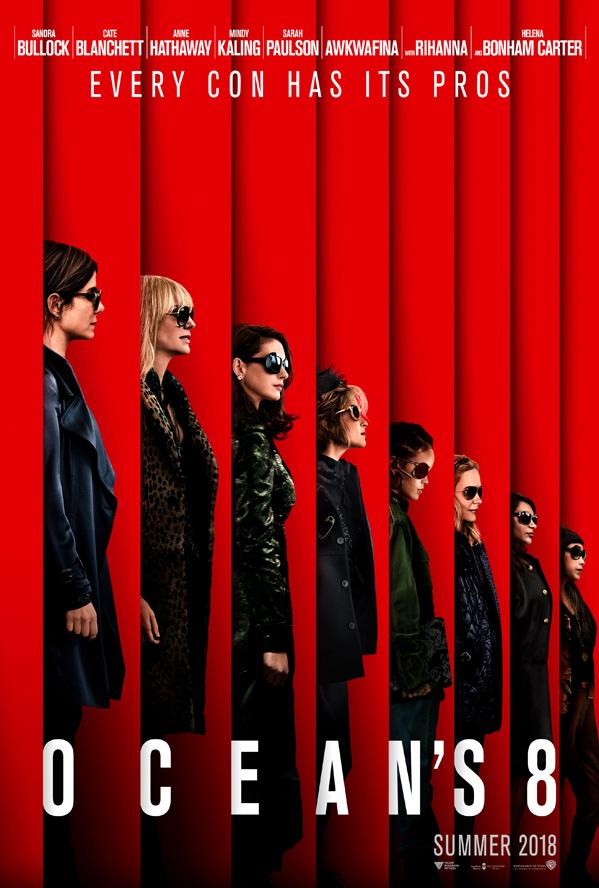 Ocean's 8 Movie Poster
